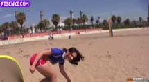 Скриншот Волейболистка трахнулась перед камерой