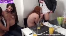 Скриншот Игривые студентки трахаются после выпивки